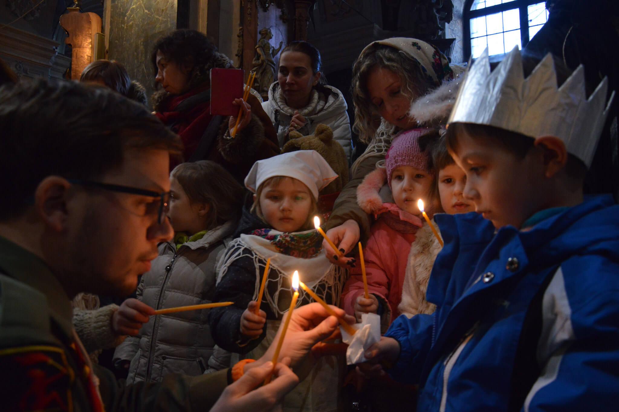 Різдвяне привітання капелана Пласту