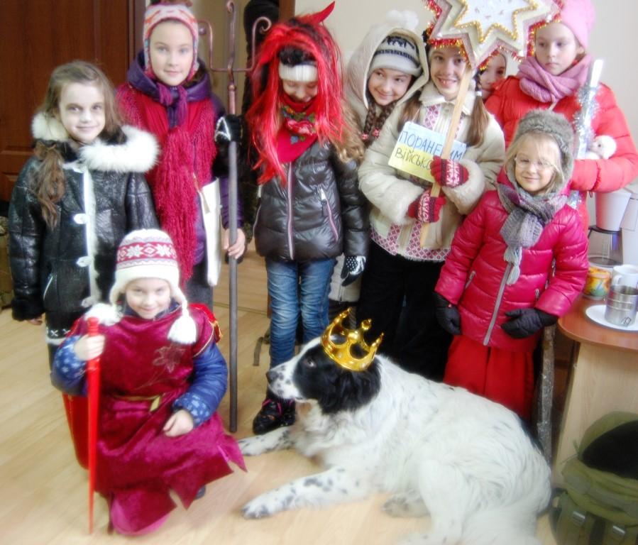 Благодійні вертепи станиці Івано-Франківськ 2017