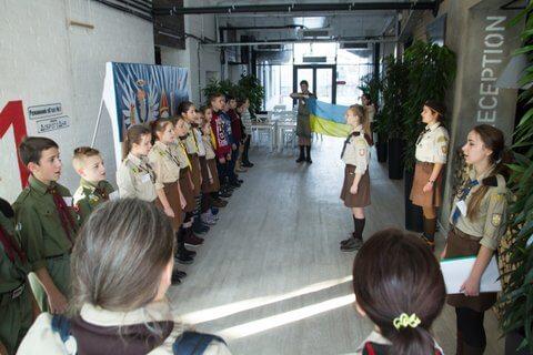 У Львові відбувся вишкіл з історії Пласту для молодшого юнацтва «Бляхарська, 11'2016»