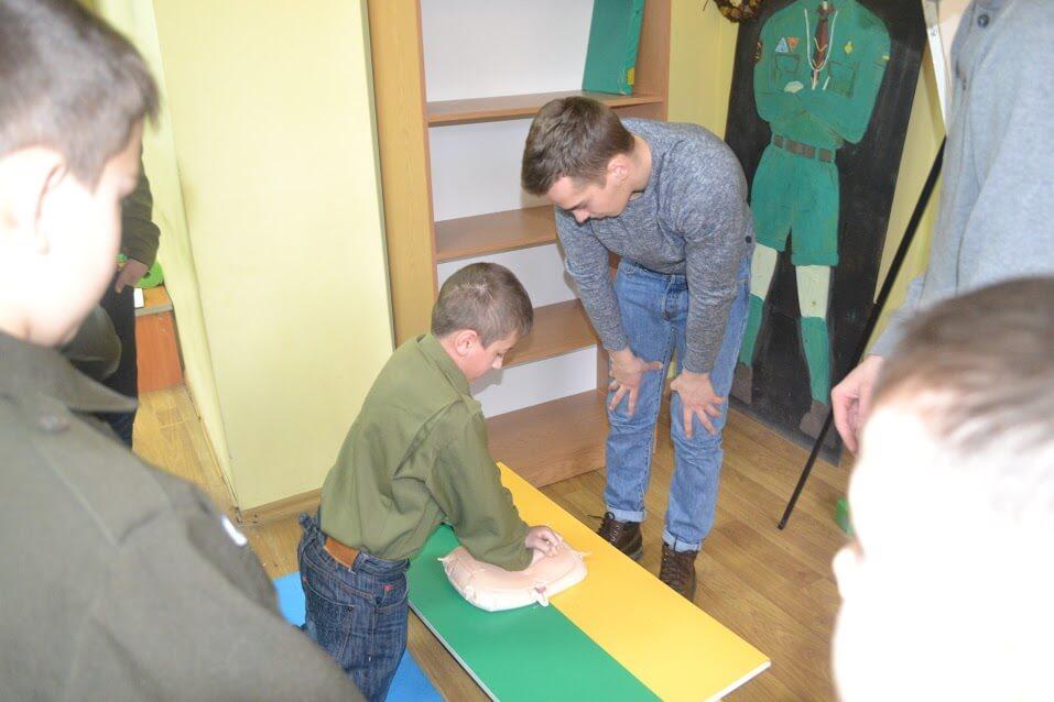 Юнацтво станиці Івано-Франківськ навчалося надавати домедичну допомогу