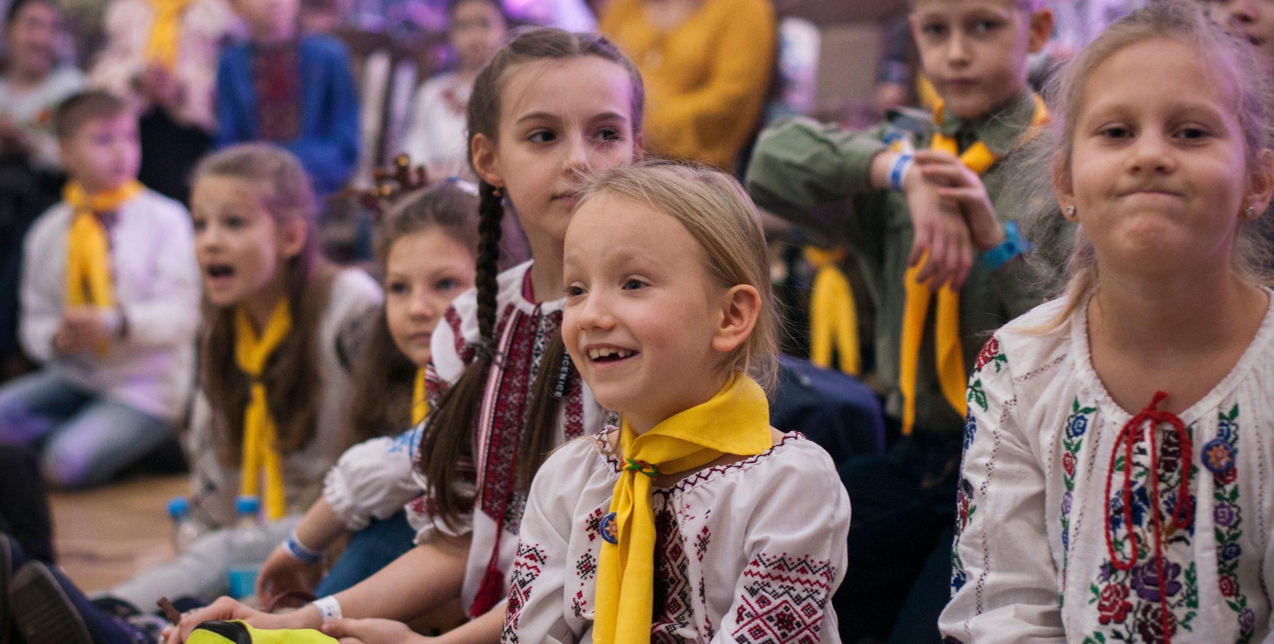 Пласт – розвиток дитини в українському середовищі