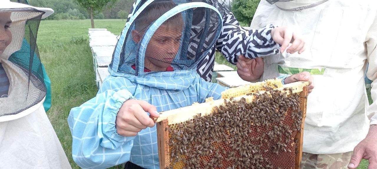 На Полтавщині відбувся пластовий вишкіл з бджільництва